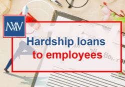 Hardship loans to employees