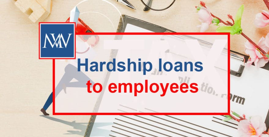Hardship loans to employees