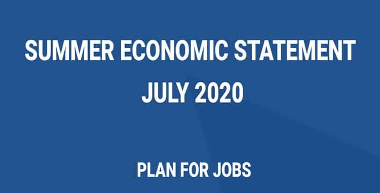 Summer economic statement july 2020