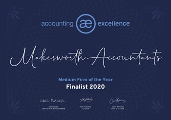 Accounting Excellence Medium Firm of the year