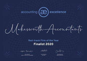 Accounting Excellence Fast-Track Firm of the year