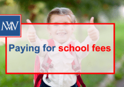 Paying for school fees