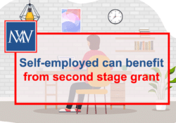 Self-employed can benefit from second stage grant