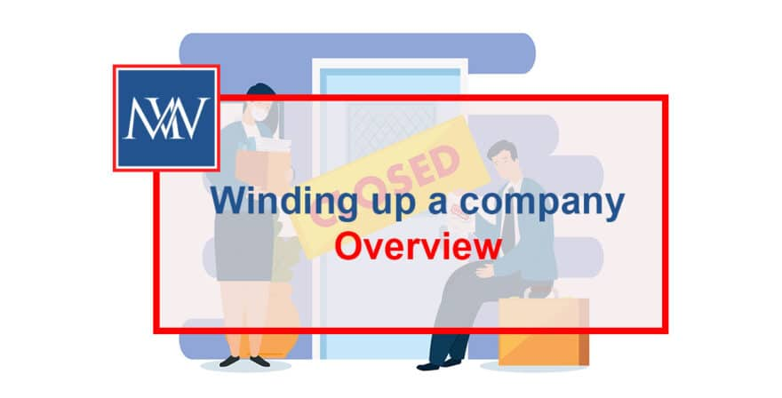 Winding up a company - Overview