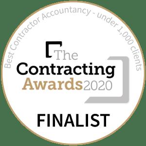 Best Contractor Accountancy -under 1,000 clients Awards - Finalist