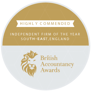 British Accountancy Awards - Makesworth Highly Commended Awards