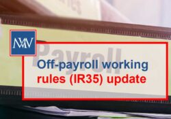 Off-payroll working rules (IR35) update