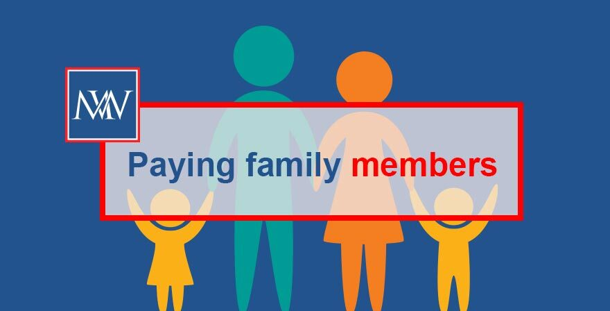 Paying family members