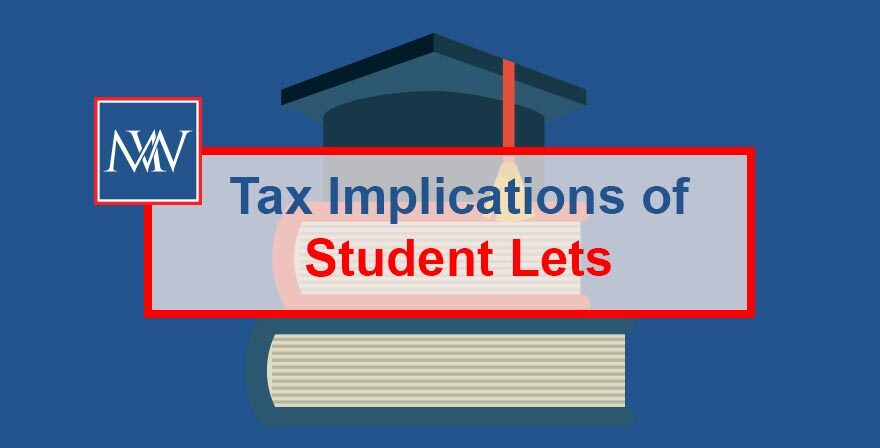 Tax implications of student lets