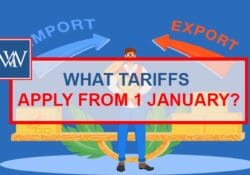 What Tariffs Apply From 1 January