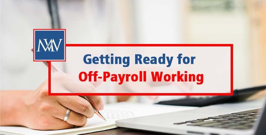 Getting ready for off-payroll working