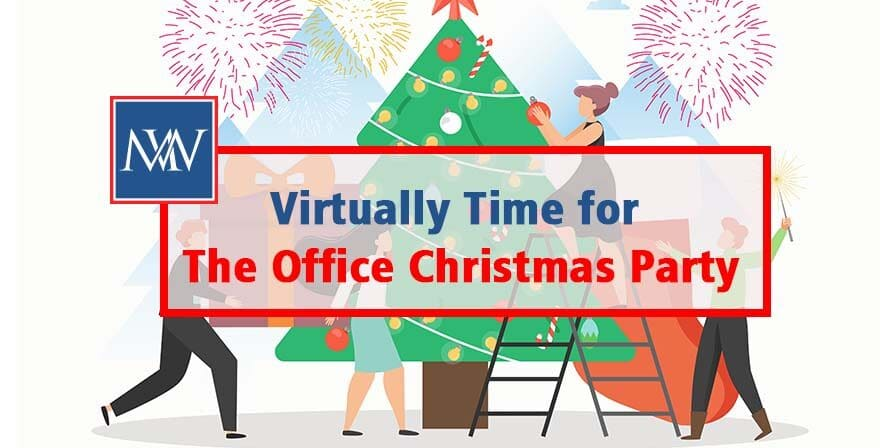Virtually time for the office Christmas party