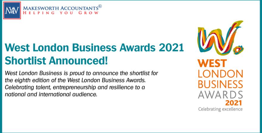 West London Business Awards 2021 shortlist announced!