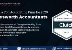 Top Accounting Firm - clutch awards 2020