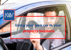 Using your own car in your property business