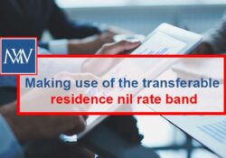 Making use of the transferable residence nil rate band
