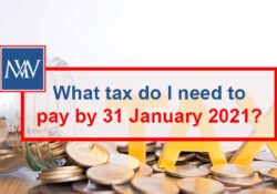 What tax do I need to pay by 31 January 2021? | self assessment tax return