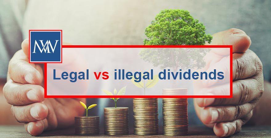 Legal vs illegal dividends