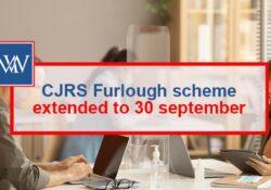 CJRS Furlough scheme extended to 30 september