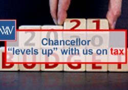 "Chancellor ""levels up"" with us on tax"