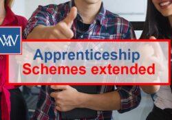 apprenticeship schemes extended