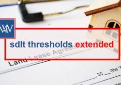 sdlt thresholds extended