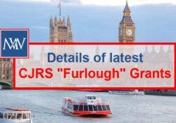 """Details of latest CJRS """"Furlough"""" Grants"""