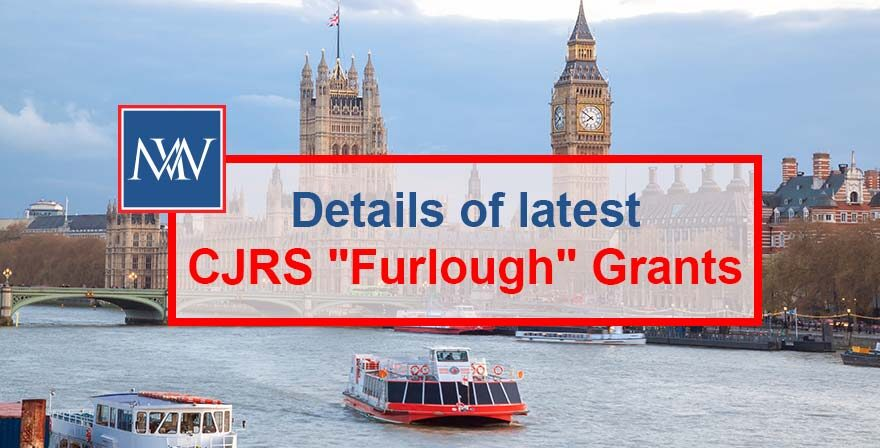 "Details of latest CJRS ""Furlough"" Grants"