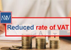Reduced rate of VAT