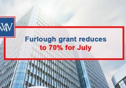 For the month of July, the CJRS Furlough grant support from the government via HMRC reduces to 70% of the employee's usual pay for hours not worked.