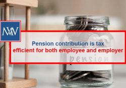 Pension contributions is tax efficient for both employee and employer
