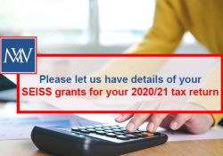 Please let us have details of your SEISS grants for your 2021/21 tax return