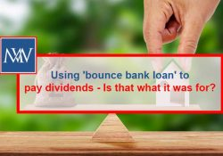 Using 'bounce bank loan' to pay dividends - Is that what it was for?