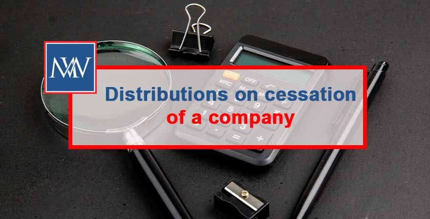 When a company closes down, it may have accumulated monies or assets that need to be distributed to shareholders. If the asset is in the form of cash then any distributions