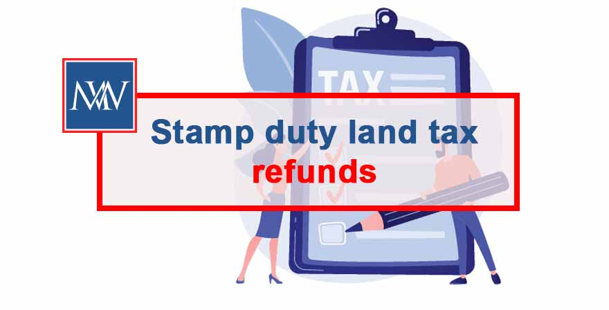 stamp duty tax refunds